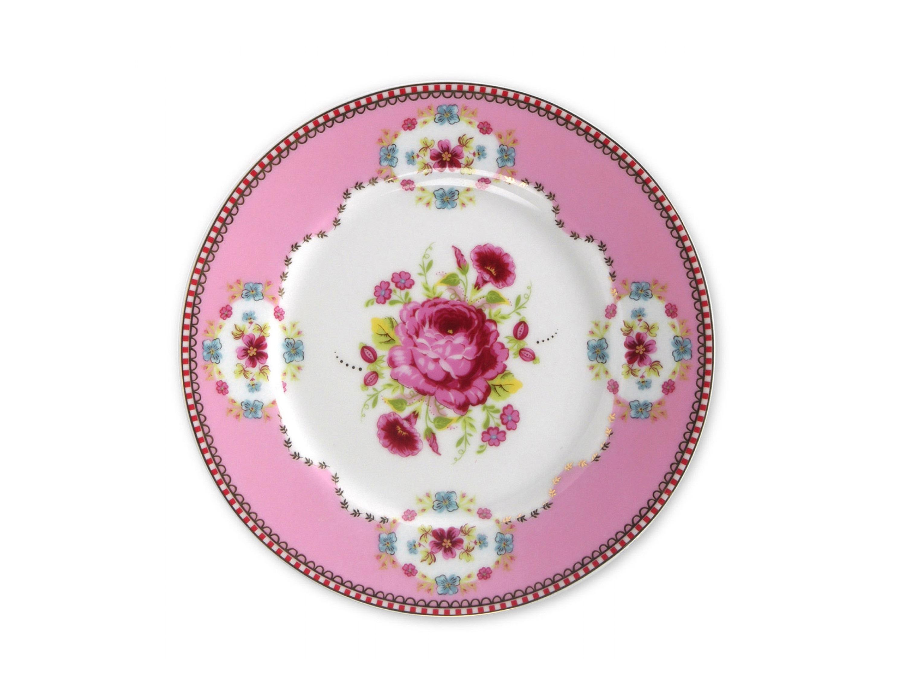 Набор тарелок Floral Pink (2шт)Тарелки<br>Коллекция посуды Floral появилась в 2008 г. и состоит из нескольких дизайнов, которые прекрасно сочетаются между собой и отлично дополняют друг друга. Особенность коллекции - в декорировании цветами, птицами и позолотой на всех предметах. Коллекция состоит из трёх цветовых групп - розовой, хаки и голубой, которые можно бесконечно комбинировать между собой. Коллекция также включает в себя кухонный текстиль и стекло.&amp;lt;div&amp;gt;&amp;lt;br&amp;gt;&amp;lt;/div&amp;gt;&amp;lt;div&amp;gt;&amp;lt;span style=&amp;quot;font-size: 14px;&amp;quot;&amp;gt;Не использовать в микроволновой печи. Не рекомендуется мыть в посудомоечной машине.&amp;amp;nbsp;&amp;lt;/span&amp;gt;&amp;lt;br&amp;gt;&amp;lt;/div&amp;gt;<br><br>Material: Фарфор<br>Высота см: 2