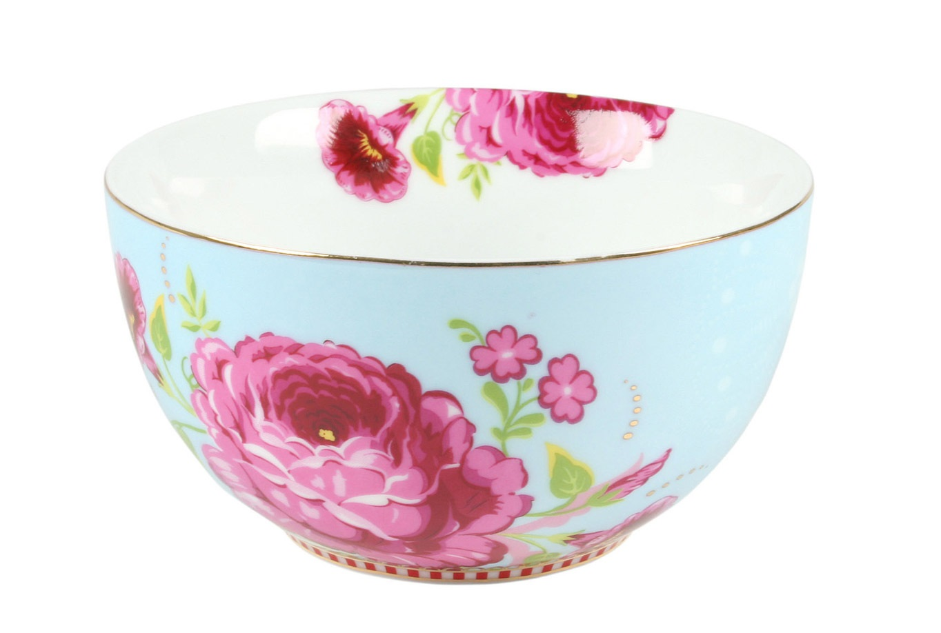 Набор пиал Floral (2шт)Миски и чаши<br>Коллекция посуды Floral появилась в 2008 г. и состоит из нескольких дизайнов, которые прекрасно сочетаются между собой и отлично дополняют друг друга. Особенность коллекции - в декорировании цветами, птицами и позолотой на всех предметах. Коллекция состоит из трёх цветовых групп - розовой, хаки и голубой, которые можно бесконечно комбинировать между собой. Коллекция также включает в себя кухонный текстиль и стекло.&amp;lt;div&amp;gt;&amp;lt;br&amp;gt;&amp;lt;/div&amp;gt;&amp;lt;div&amp;gt;&amp;lt;span style=&amp;quot;font-size: 14px;&amp;quot;&amp;gt;Не использовать в микроволновой печи. Не рекомендуется мыть в посудомоечной машине.&amp;amp;nbsp;&amp;lt;/span&amp;gt;&amp;lt;br&amp;gt;&amp;lt;/div&amp;gt;<br><br>Material: Фарфор<br>Width см: None<br>Depth см: None<br>Height см: 7<br>Diameter см: 12