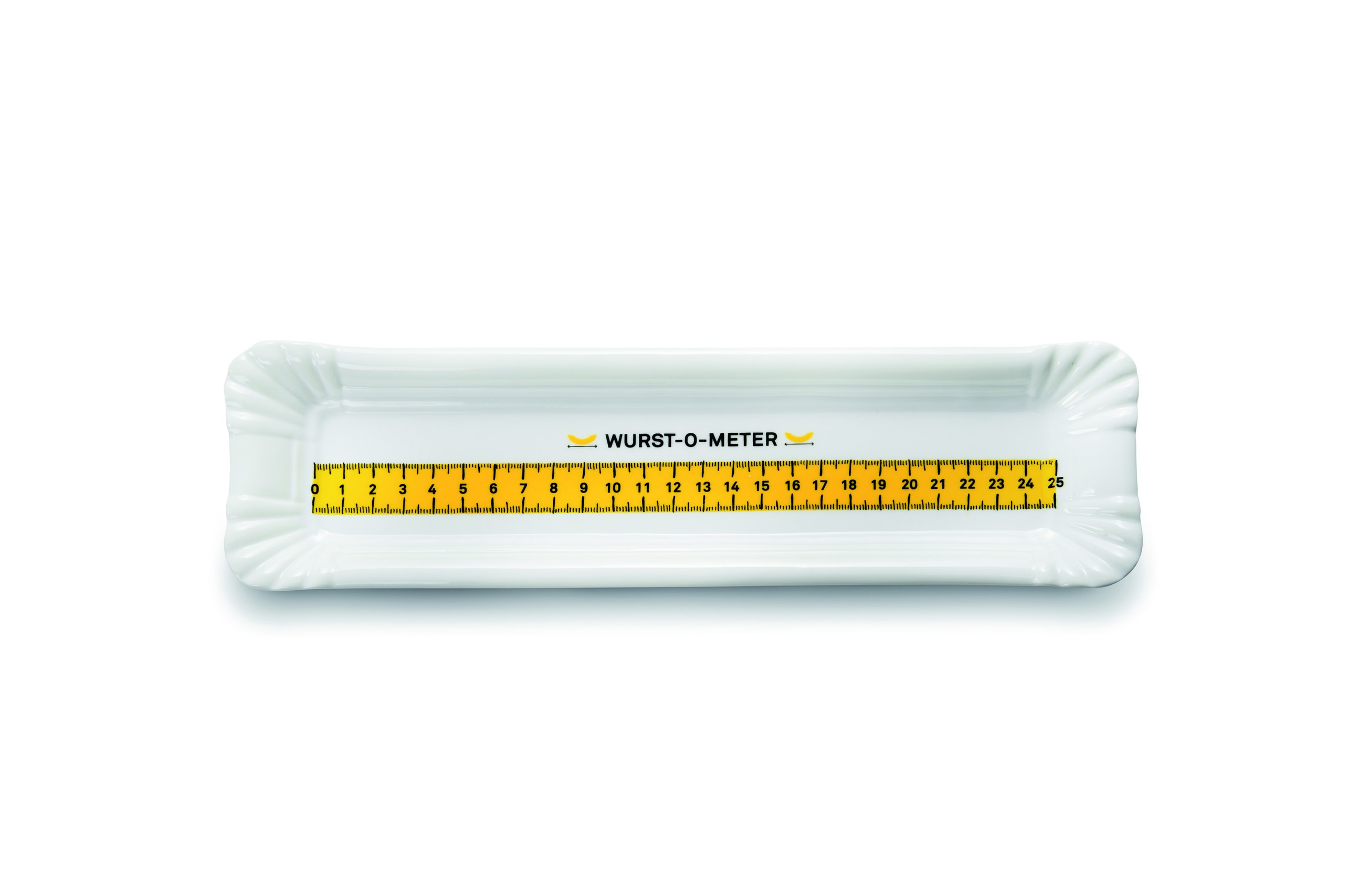 Тарелка Wurst-O-MeterТарелки<br><br><br>Material: Фарфор<br>Ширина см: 30<br>Высота см: 2<br>Глубина см: 8