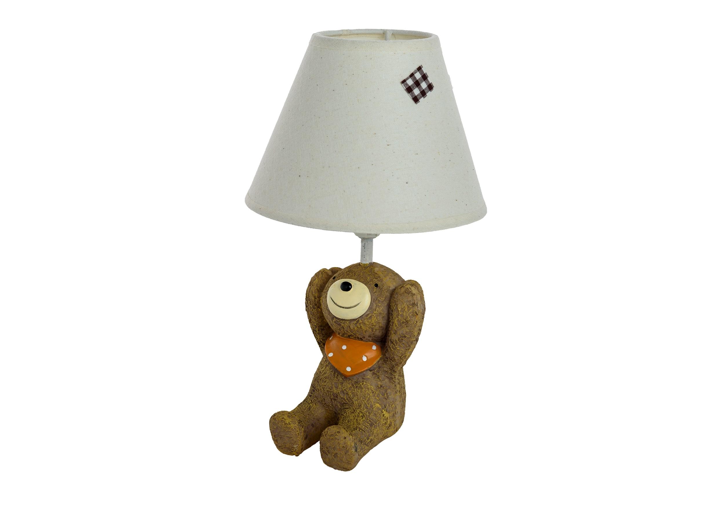 Детская настольная лампа Медвежонок Ничего не слышуДекоративные лампы<br>&amp;lt;div&amp;gt;Тип цоколя: E27&amp;lt;/div&amp;gt;&amp;lt;div&amp;gt;Мощность: 40W&amp;lt;/div&amp;gt;&amp;lt;div&amp;gt;Кол-во ламп: 1 (нет в комплекте)&amp;lt;/div&amp;gt;<br><br>Material: Полирезин<br>Высота см: 29