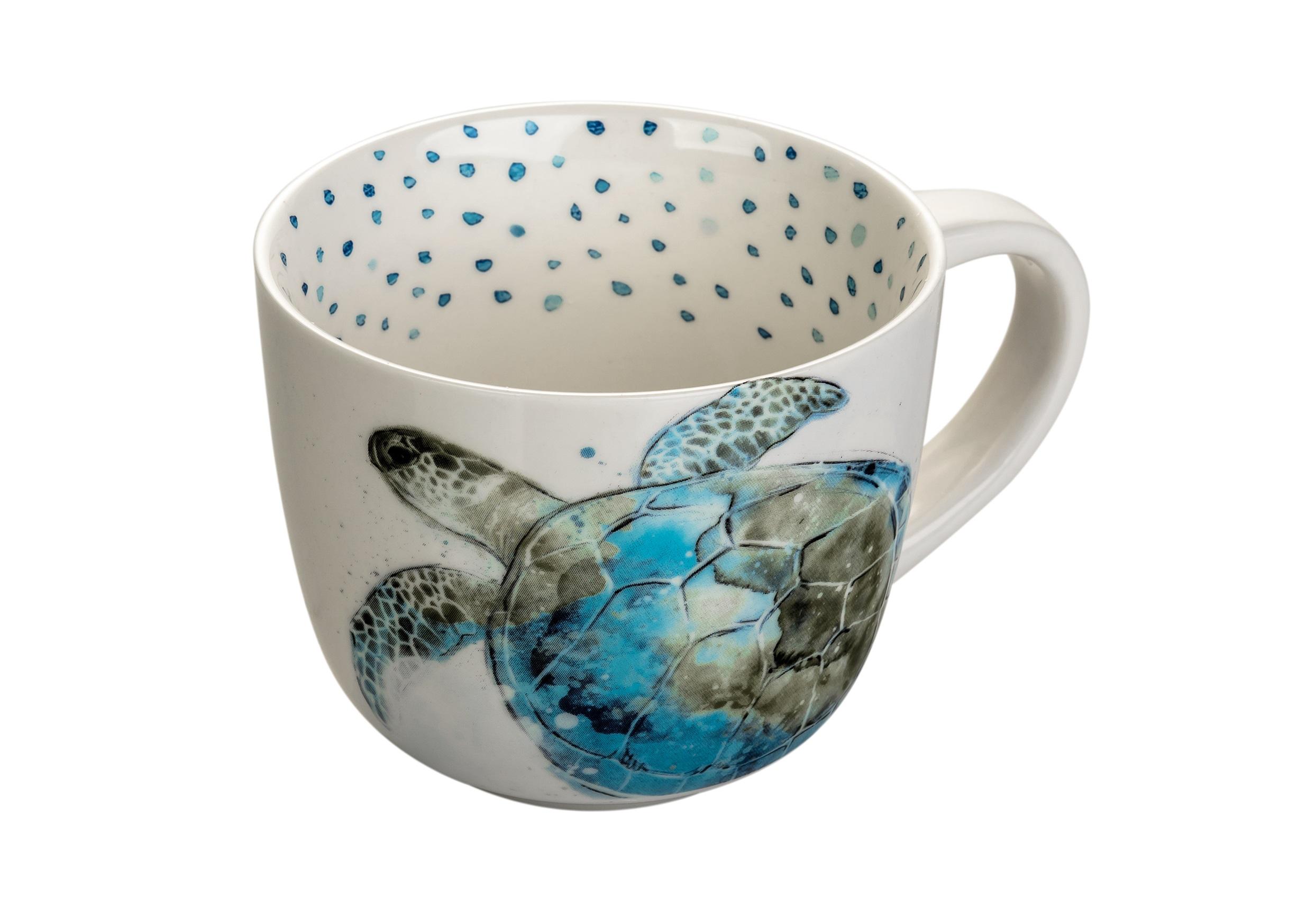 Чашка ЧерепахаЧайные пары, чашки и кружки<br><br><br>Material: Керамика<br>Length см: None<br>Width см: None<br>Height см: 9<br>Diameter см: 11