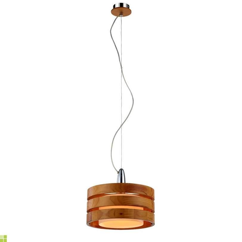 Потолочный светильник RingПодвесные светильники<br>Количество ламп:1<br>Мощность одной лампы: 60 Вт<br>Лампа накаливания, цоколь - 27мм<br>Материал плафона: Дерево, Стекло матовое<br>Варианты цвета:<br>Коричневый (A1326SP-1CC)<br>Черный (A1326SP-1BK)<br><br>Material: Металл<br>Высота см: 45