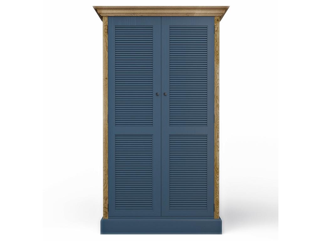 Шкаф RanchПлатяные шкафы<br>Платяной шкаф &amp;quot;Ranch Blue Ash&amp;quot; вместителен и функционален. Благодаря необычной  форме фасадов, текстуре натурального дуба и глубокому синему цвету, шкаф &amp;quot;Ranch&amp;quot; станет украшением Вашего интерьера. Возможны разные варианты цветов.&amp;amp;nbsp;<br><br>Material: Дуб<br>Ширина см: 113<br>Высота см: 195<br>Глубина см: 62