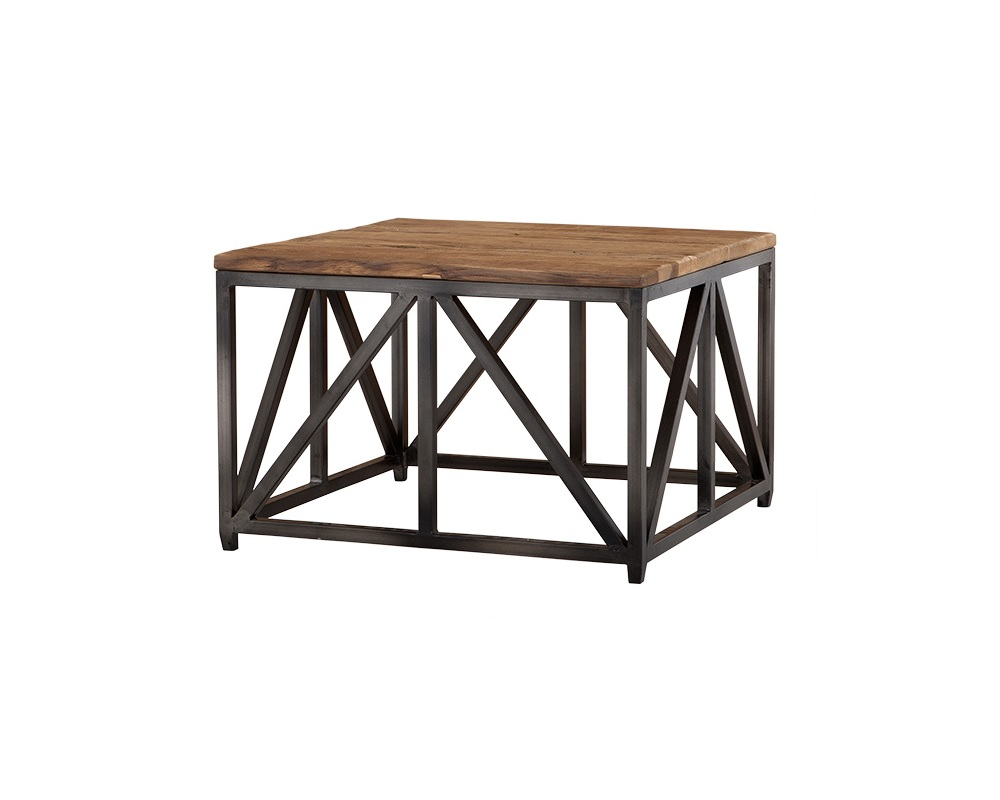 Журнальный столик ThierryЖурнальные столики<br><br><br>Material: Дерево<br>Ширина см: 75.0<br>Высота см: 50.0<br>Глубина см: 75.0