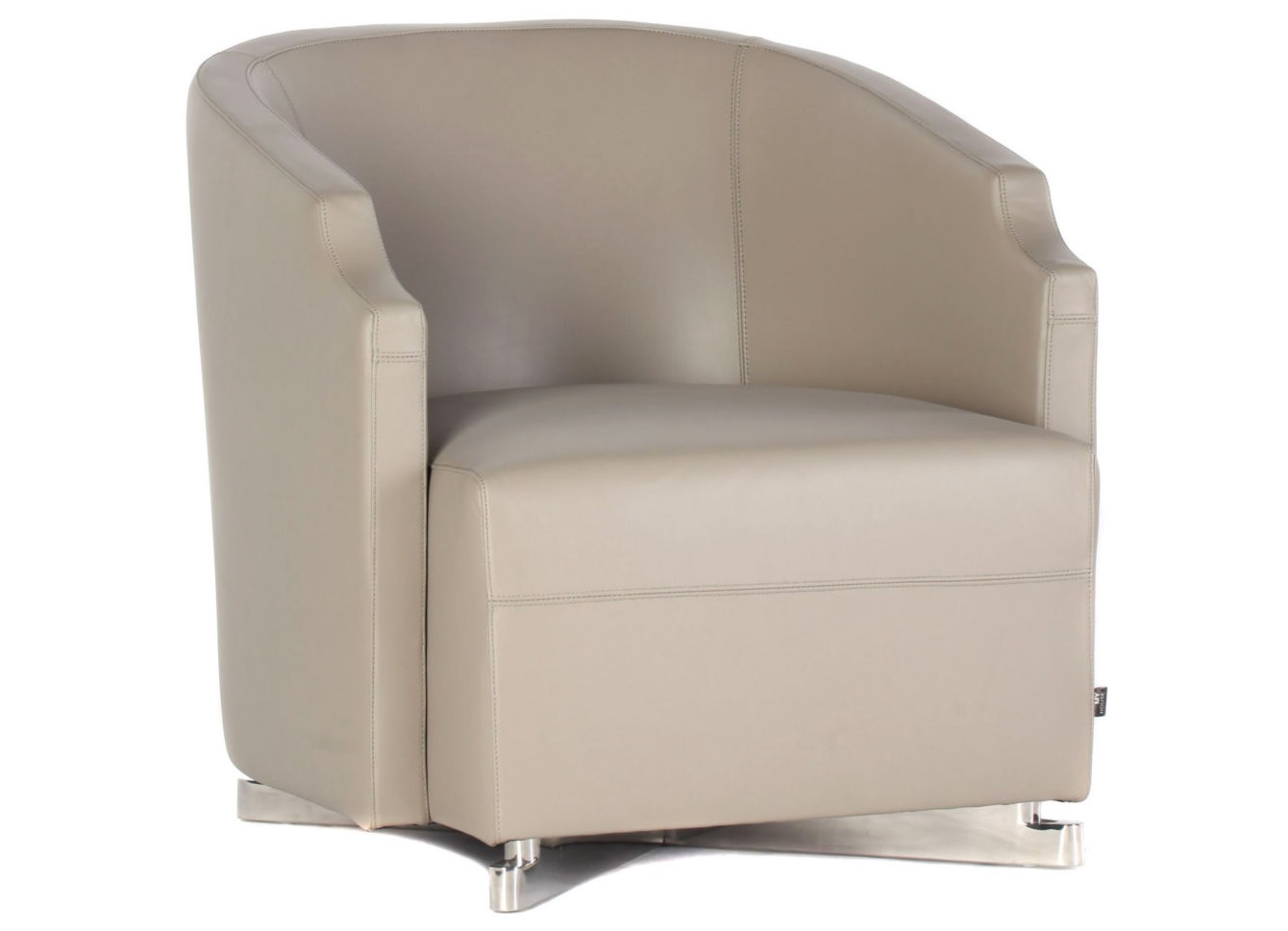 Кресло Arma creamКожаные кресла<br><br><br>Material: Кожа<br>Ширина см: 67<br>Высота см: 72<br>Глубина см: 80