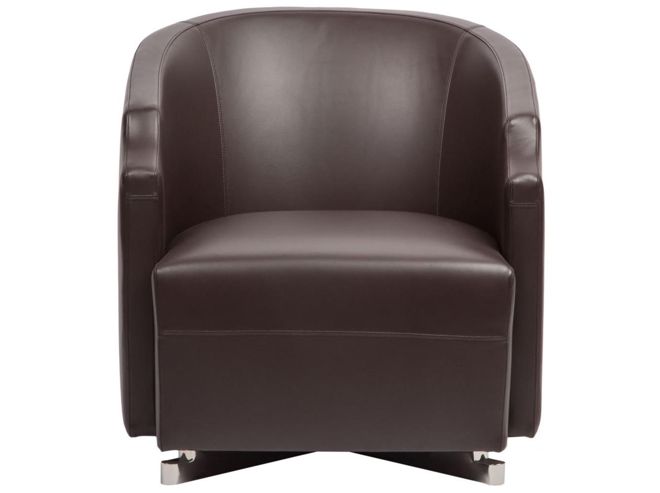 Кресло Arma brownКожаные кресла<br><br><br>Material: Кожа<br>Ширина см: 67<br>Высота см: 72<br>Глубина см: 80