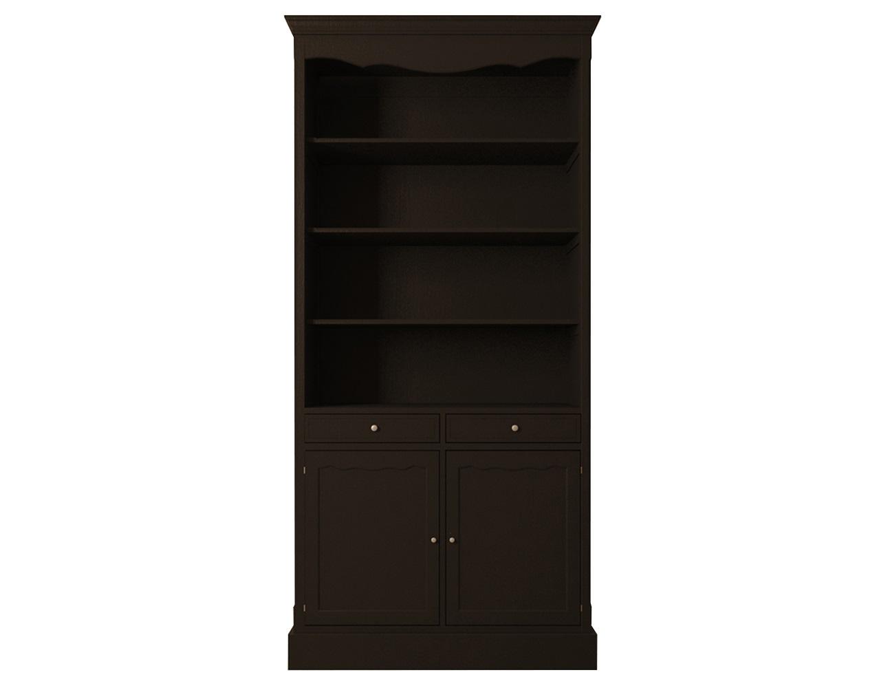 Шкаф Leontina BlackКнижные шкафы и библиотеки<br><br><br>Material: Береза<br>Ширина см: 104<br>Высота см: 220<br>Глубина см: 40