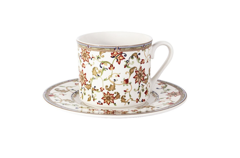 Чашка с блюдцем КардиналЧайные пары, чашки и кружки<br><br><br>Material: Керамика
