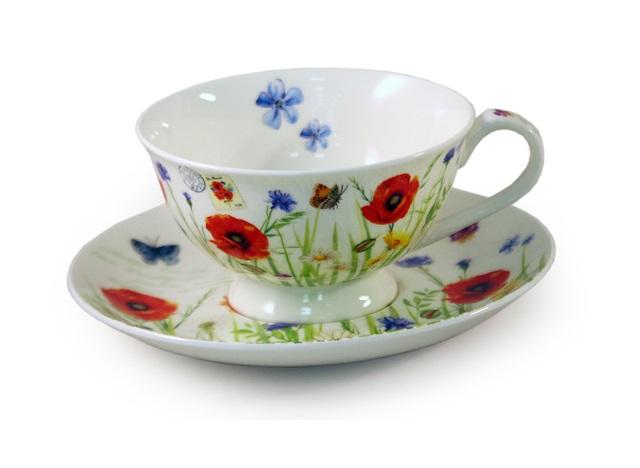 Чашка  с блюдцем МакиЧайные пары, чашки и кружки<br><br><br>Material: Фарфор