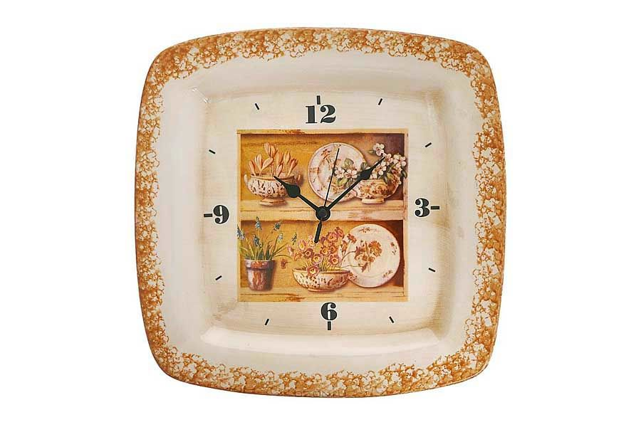 Настенные часы КантриНастенные часы<br>Кварцевый механизм.<br><br>Material: Керамика