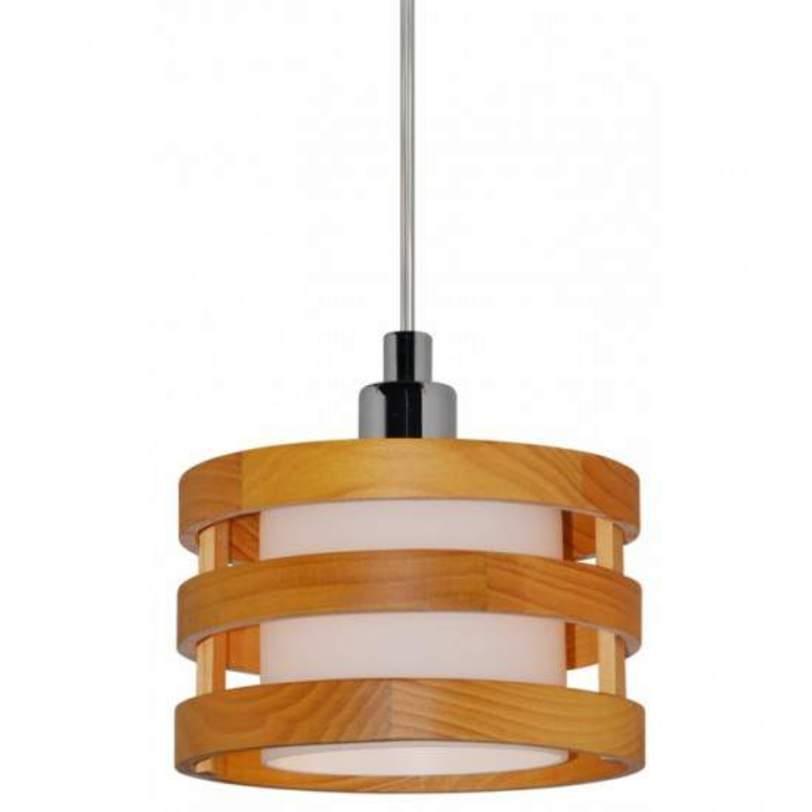 Подвесной светильник RingПодвесные светильники<br>Эта минималистичная люстра эффектно впишется как в модный нынче скандинавский стиль, так и в эко-стиль, ее подчеркнутая лаконичность придает законченности интерьеру.<br><br>Количество ламп: 1<br>Мощность одной лампы: 40 Вт<br>Лампа накаливания, цоколь - 14мм<br>Максимальная высота люстры: 134 см<br>Материал каркаса:Дерево, Металл<br>Варианты цвета:<br>Под дерево/Хром (A1320SP-1CC)<br>Черный/ Хром (A1320SP-1BK)<br><br>Material: Металл<br>Length см: None<br>Width см: None<br>Depth см: None<br>Height см: 14<br>Diameter см: 15