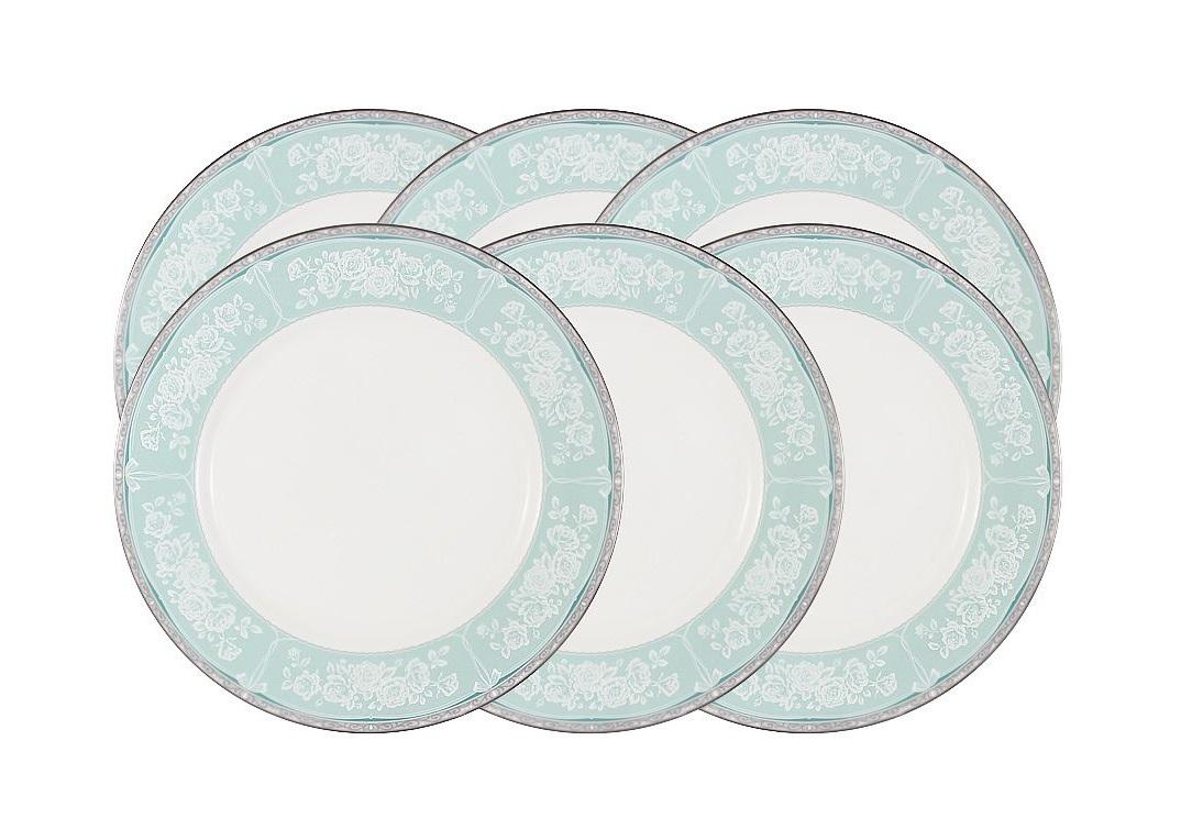 Набор обеденных тарелок Прикосновение (6шт)Тарелки<br><br><br>Material: Фарфор