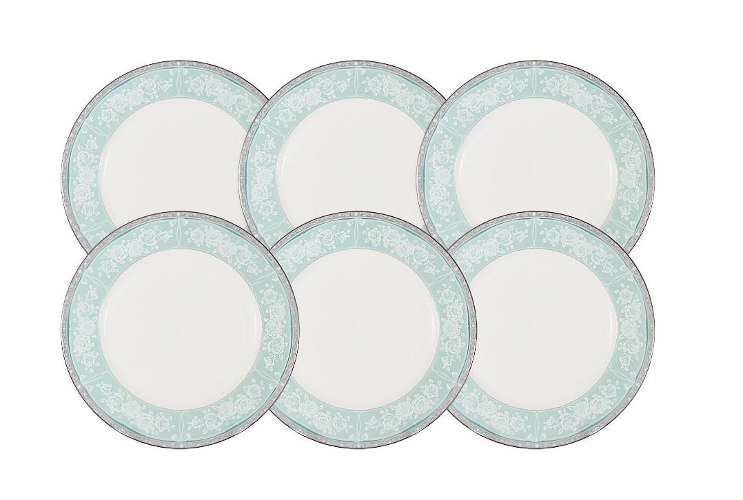 Набор десертных тарелок Прикосновение (6шт)Тарелки<br><br><br>Material: Фарфор