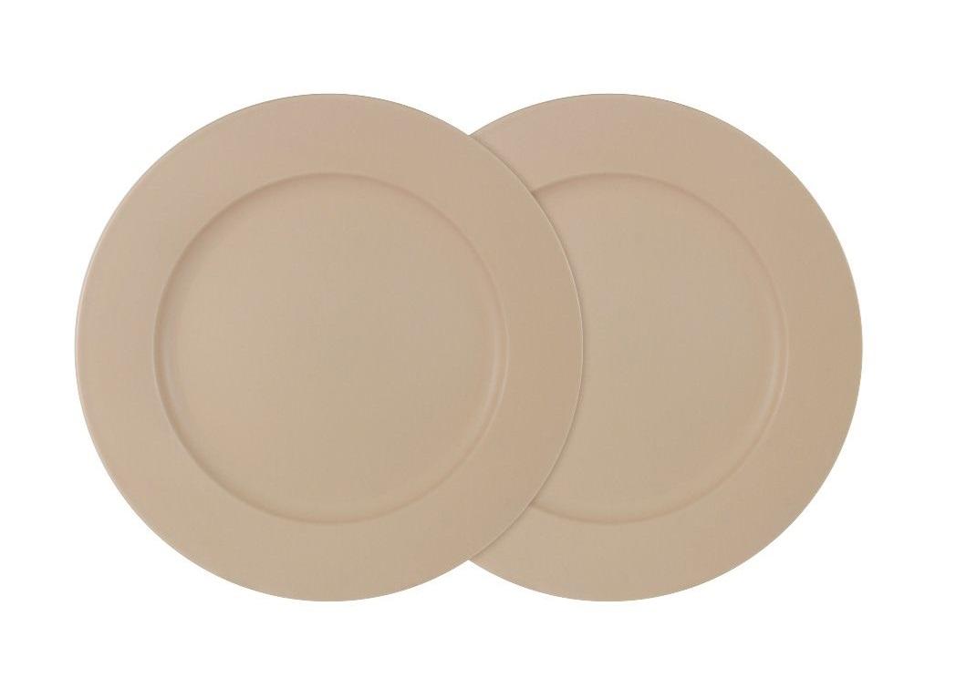 Набор обеденных тарелок Птичье молоко (2шт)Тарелки<br><br><br>Material: Керамика