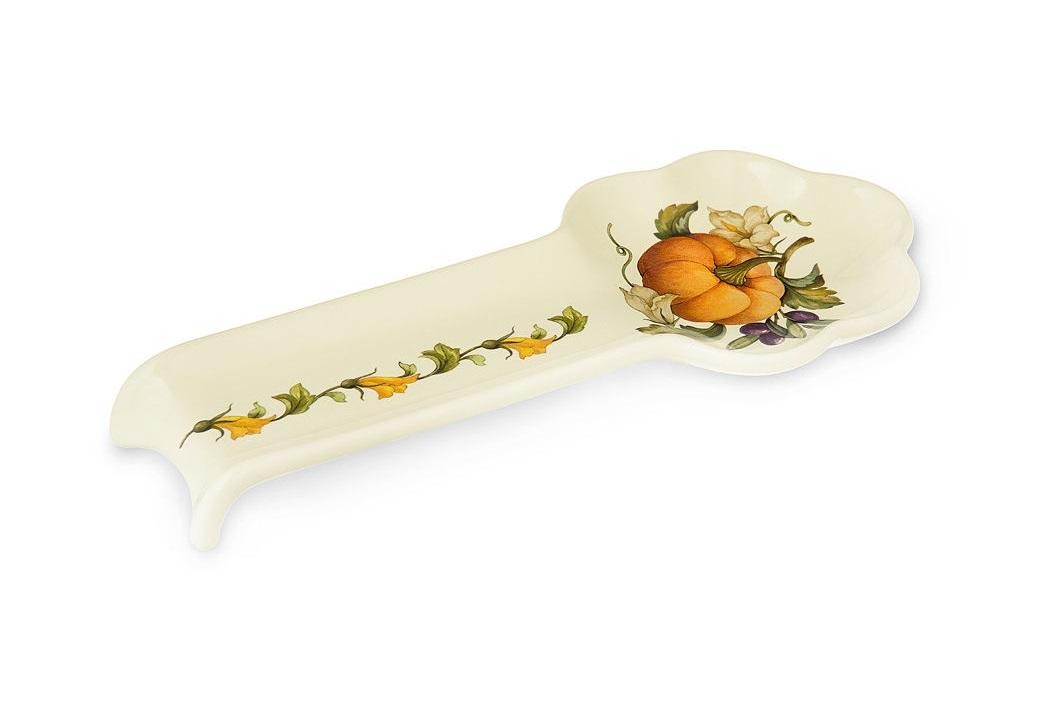 Ложка-подставка  ТыкваАксессуары для кухни<br><br><br>Material: Керамика