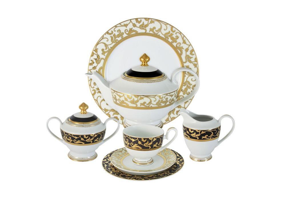Чайный сервиз 42 предмета на 12 персон ТоледоЧайные сервизы<br><br><br>Material: Фарфор