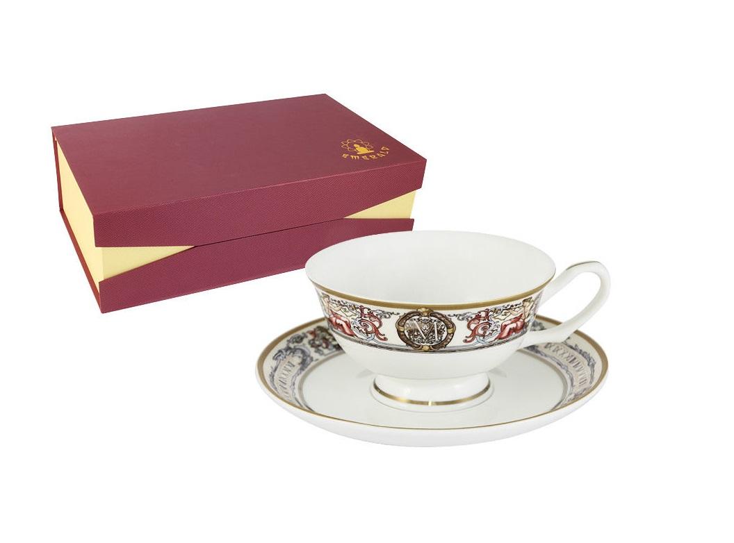 Набор 12 предметов МельпоменаЧайные сервизы<br>Набор 12 предметов: 6 чашек и 6 блюдец<br><br>Material: Фарфор