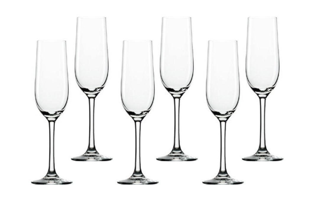 Набор: 6 бокалов для шампанского ClassicБокалы<br><br><br>Material: Стекло