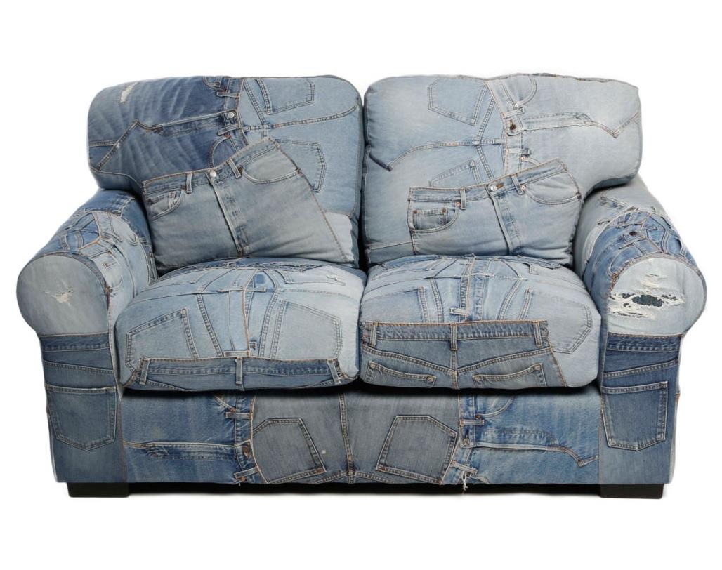Диван San FranciscoДвухместные диваны<br><br><br>Material: Джинса<br>Ширина см: 160<br>Высота см: 93<br>Глубина см: 89
