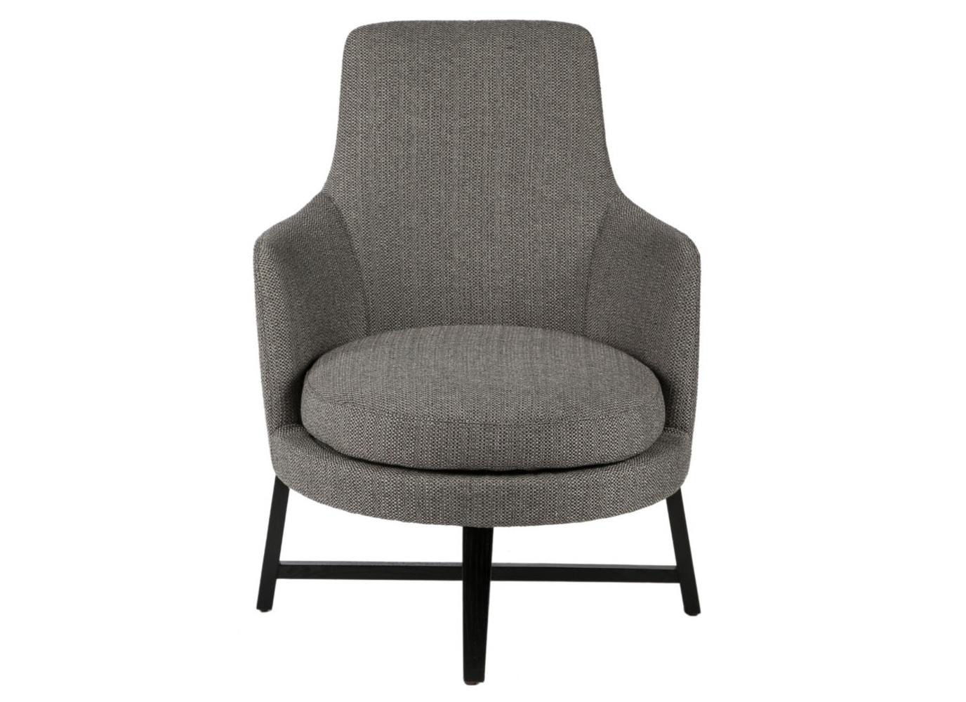 Кресло Guscio graphiteКресла с высокой спинкой<br><br><br>Material: Текстиль<br>Ширина см: 66<br>Высота см: 82<br>Глубина см: 80