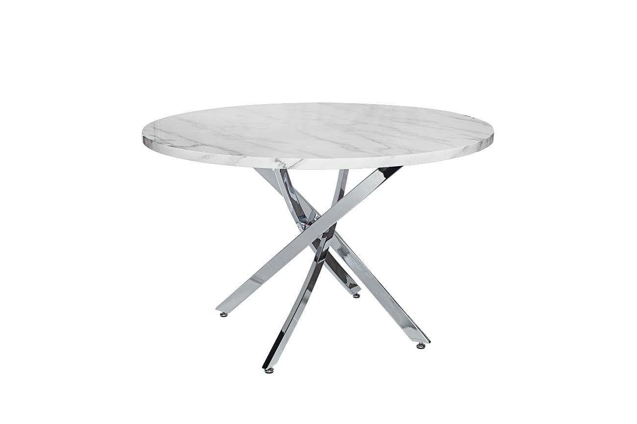 СтолОбеденные столы<br><br><br>Material: МДФ<br>Width см: 120<br>Depth см: 120<br>Height см: 76