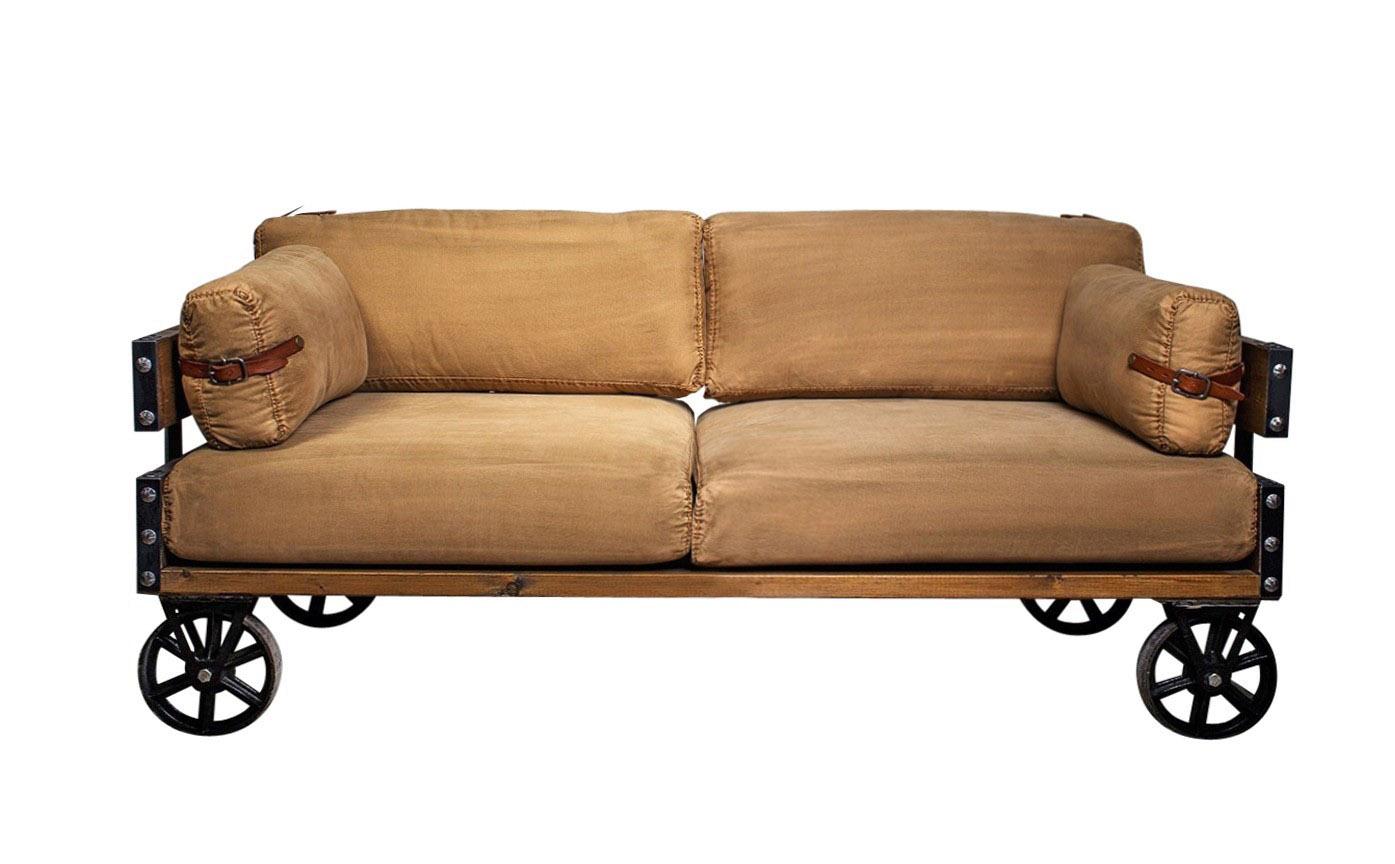 Диван LoftДвухместные диваны<br><br><br>Material: Текстиль<br>Ширина см: 158<br>Высота см: 90<br>Глубина см: 80