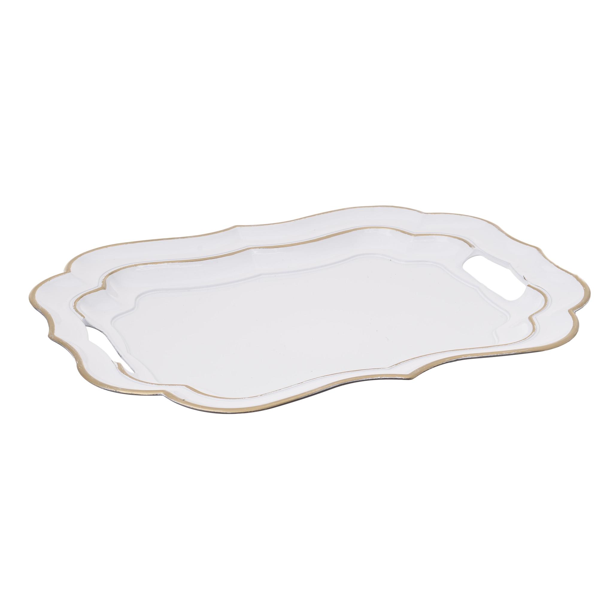 Блюдо AnsleyДекоративные блюда<br><br><br>Material: Пластик<br>Ширина см: 38<br>Высота см: 3<br>Глубина см: 28
