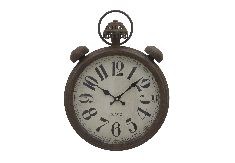 Часы настенные IakchosНастенные часы<br>Кварцевый механизм.<br><br>Material: Металл<br>Width см: 37.5<br>Depth см: 9<br>Height см: 49