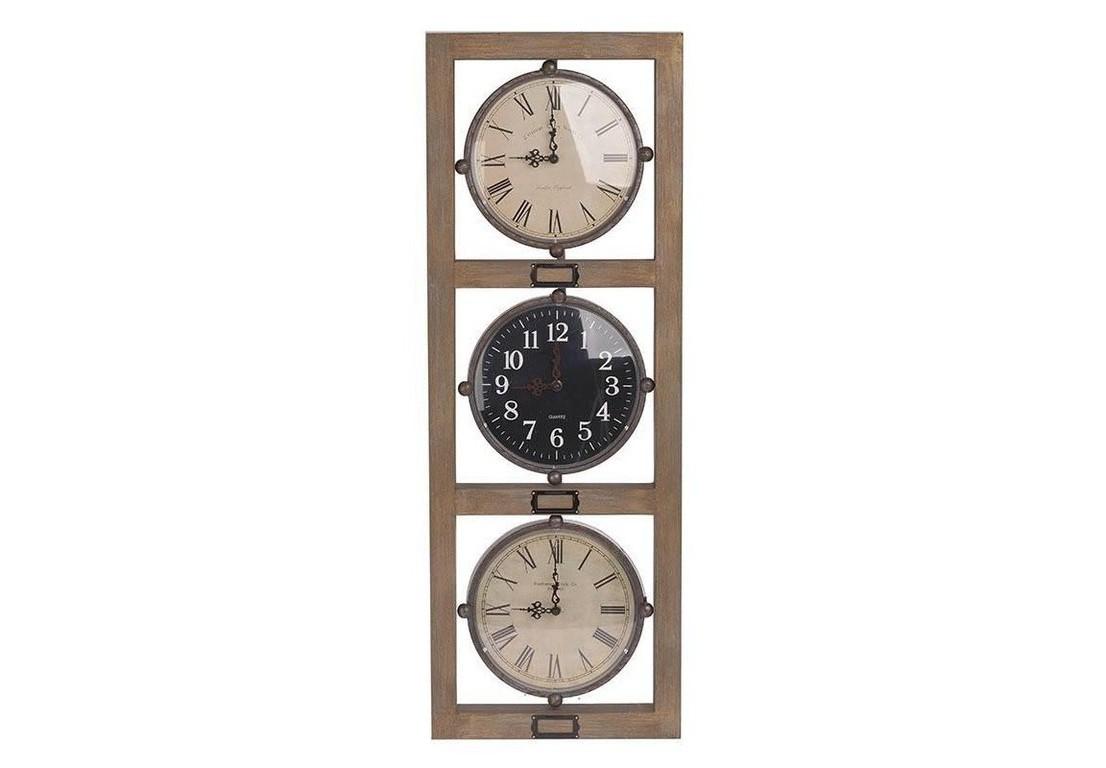 Часы настенные IaretНастенные часы<br>Кварцевый механизм.<br><br>Material: Дерево<br>Ширина см: 33<br>Высота см: 92<br>Глубина см: 5