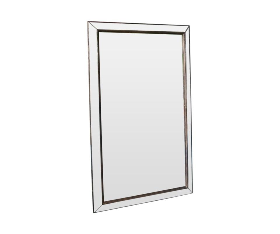 Зеркало ручной работы Зеркальный лофтНастенные зеркала<br>Эффектное зеркало выполнено в стиле благородного лофта и декорировано зеркальной рамой на состаренном дереве. Такое изделие непременно будет радовать Ваш взгляд, и украшать Вашу обитель.<br><br>Material: Дерево<br>Ширина см: 85.0<br>Высота см: 138.0<br>Глубина см: 4.0
