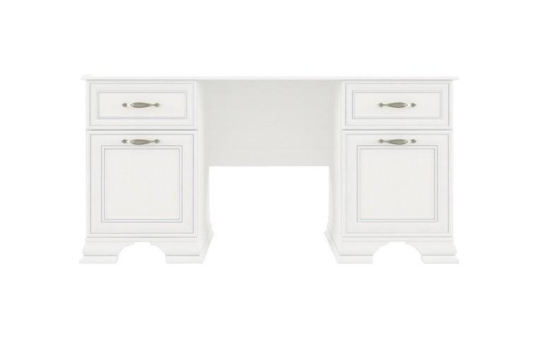 Стол письменный TIFFANYПисьменные столы<br>Цвет: вудлайн кремовый.&amp;amp;nbsp;&amp;lt;div&amp;gt;&amp;lt;br&amp;gt;Материал корпуса: ДСП ламинированная, толщина- 16 мм, крышка (тумба, стол) - 22 мм.<br> Материал планки: МДФ  ламинированная, патинированная.<br> Материал полки: ДСП ламинированное 16 мм.<br>Задняя стенка: ДВП, белая 2,5 мм.&amp;amp;nbsp;&amp;lt;/div&amp;gt;&amp;lt;div&amp;gt;&amp;lt;br&amp;gt;Материал фасада: рамочный (планки МДФ ламинированная, патинированная и филенка ЛДСП толщина 8 мм). Толщина: плита 8 мм, планка 19 мм. Тип облицовки: ПВХ 0,5мм.&amp;amp;nbsp;&amp;lt;/div&amp;gt;&amp;lt;div&amp;gt;&amp;lt;br&amp;gt;Аксессуары: петли металлические производство  GTV (Польша), направляющие шариковые металлические производство GTV (Польша), ручки металлические производство GAMET (Польша).&amp;lt;/div&amp;gt;<br><br>Material: ДСП<br>Ширина см: 150<br>Высота см: 75<br>Глубина см: 60