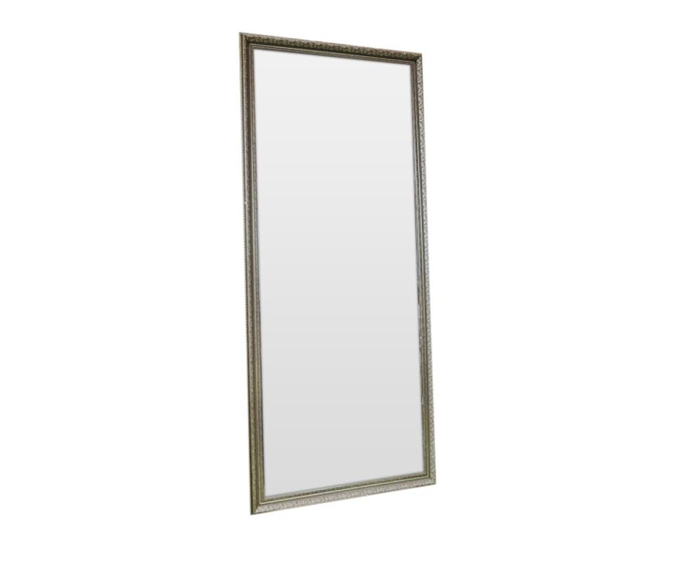 Зеркало СереброНастенные зеркала<br>Эффектное зеркало впишется практически в любой стиль. Такое изделие непременно будет радовать Ваш взгляд и украшать Вашу обитель.&amp;amp;nbsp;&amp;lt;div&amp;gt;Зеркало изготовлено специалистами зеркальной мастерской на территории России, использован ручной труд. &amp;lt;/div&amp;gt;<br><br>Material: Полиуретан<br>Ширина см: 90.0<br>Высота см: 160.0<br>Глубина см: 3.0