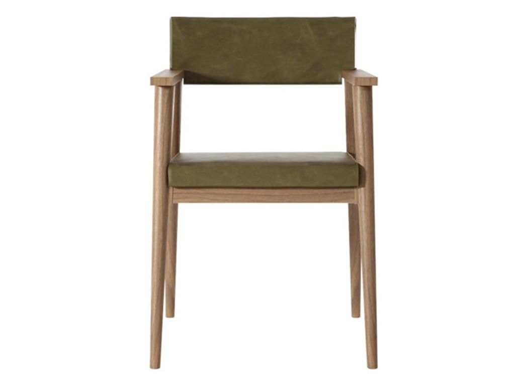 Стул-кресло VintageОбеденные стулья<br>Стул-кресло Vintage OG еще одно из прекрасных творений мастеров Karpenter. Каркас изготовлен из массива тика, особое внимание стоит обратить на подлокотники, благодаря которым в этом кресле любой человек будет чувствовать себя очень комфортно. Натуральная...<br><br>Material: Тик<br>Ширина см: 53<br>Высота см: 83<br>Глубина см: 61