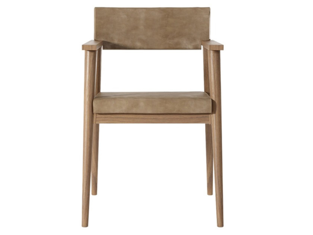 Стул-кресло VintageОбеденные стулья<br>Стул-кресло Vintage SG еще одно из прекрасных творений мастеров Karpenter. Каркас изготовлен из массива тика, особое внимание стоит обратить на подлокотники, благодаря которым в этом кресле любой человек будет чувствовать себя очень комфортно.&amp;amp;nbsp;<br><br>Material: Тик<br>Length см: 0<br>Width см: 51<br>Depth см: 61<br>Height см: 83<br>Diameter см: 0