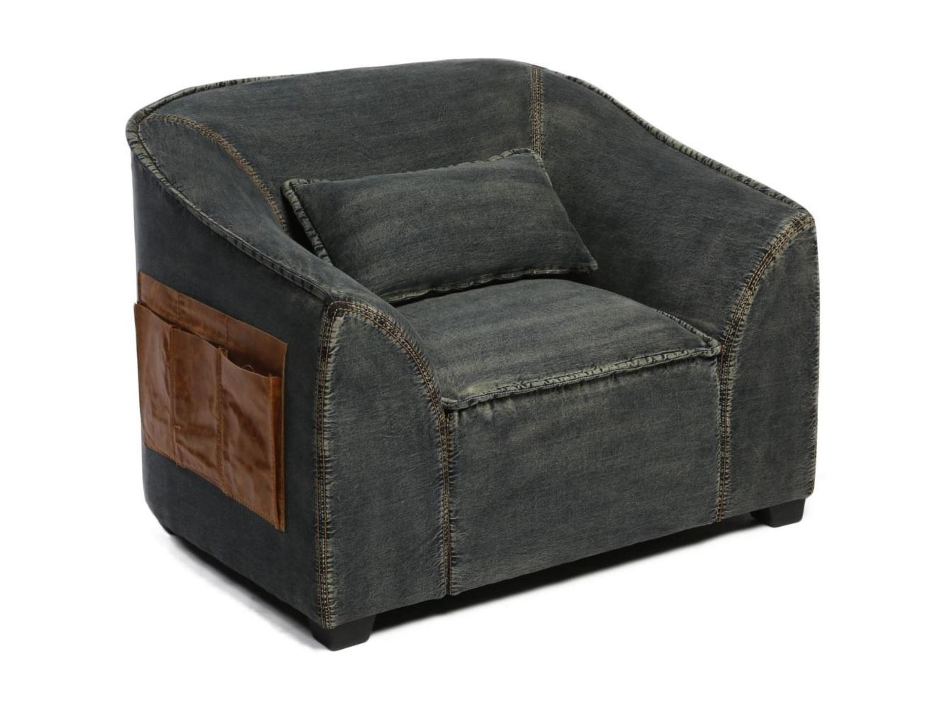 Кресло BenettИнтерьерные кресла<br><br><br>Material: Джинса<br>Width см: 102<br>Depth см: 86<br>Height см: 83
