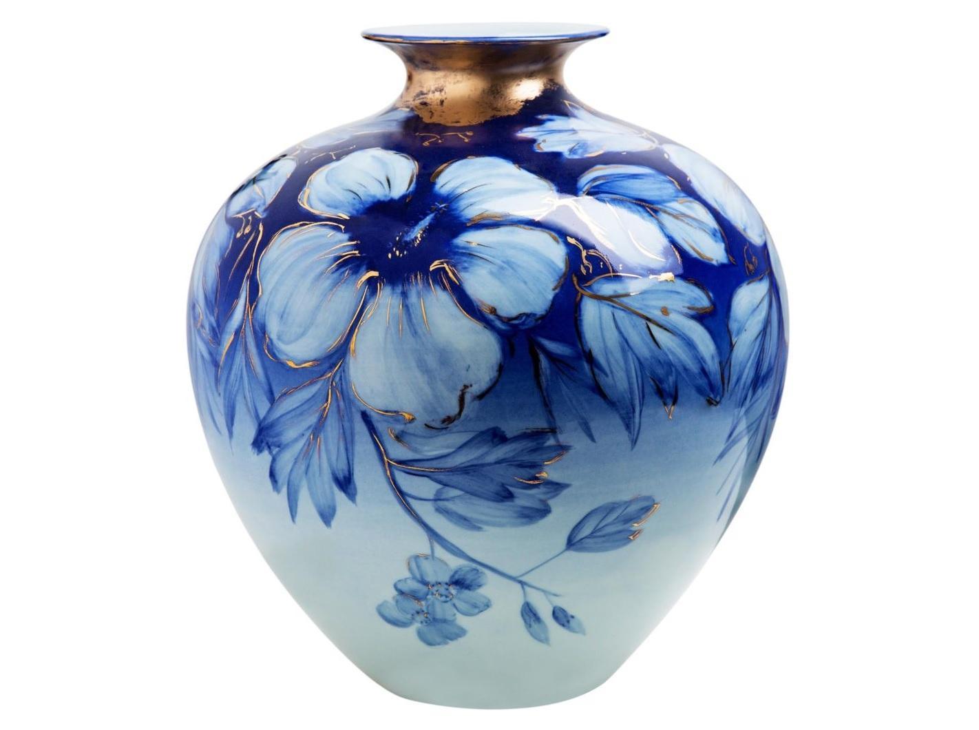 Ваза настольная Bloom wideВазы<br><br><br>Material: Керамика<br>Высота см: 37