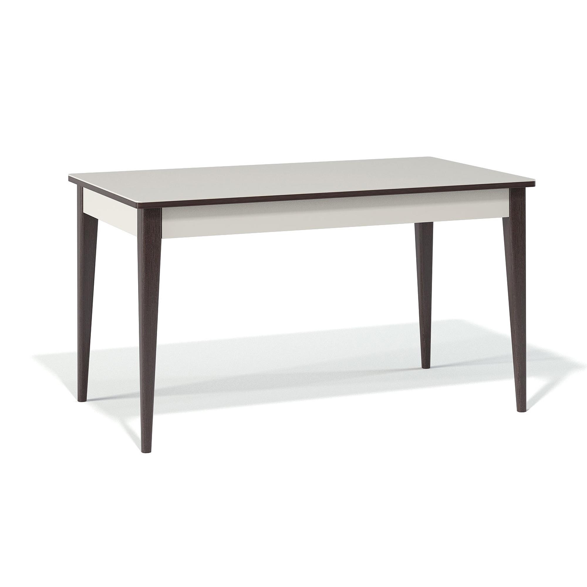 Стол обеденный KennerОбеденные столы<br>Изюминка и оригинальность этого стола заключается в его механизме раскладки. Раскладка происходит вместе с опорами - такой механизм называется телескоп - очень удобно и быстро можно организовать дополнительное место для гостей.&amp;nbsp;Столешница стола выполнена из стекла (4 мм)+лдсп, ножки стола - массив бука.&amp;nbsp;За столом свободно поместится от 6 до 10 человек.&amp;nbsp;Размеры разложенной столешницы: 200х90 см.<br><br>kit: None<br>gender: None