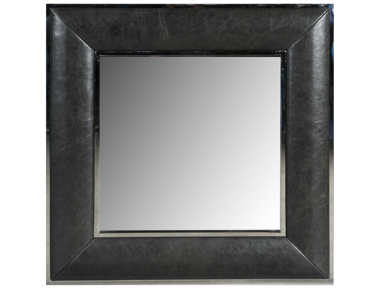 Зеркало Luxury &amp; NobilityНастенные зеркала<br><br><br>Material: Кожа<br>Width см: 90<br>Depth см: 5<br>Height см: 90
