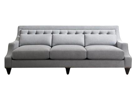 Диван с подушками диван mestre (fratelli barri) серый 225x93x86 см.