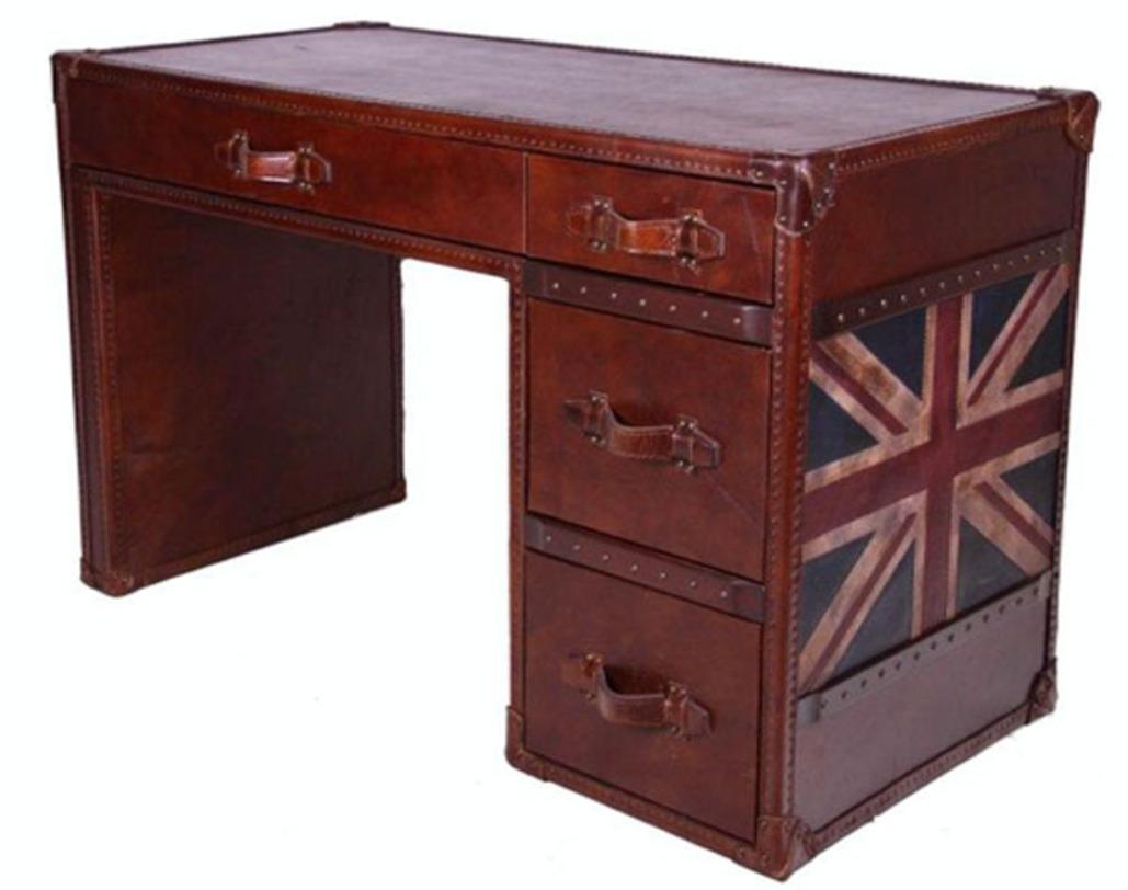 Стол  BritishПисьменные столы<br><br><br>Material: Кожа<br>Length см: 137<br>Width см: 68<br>Height см: 81