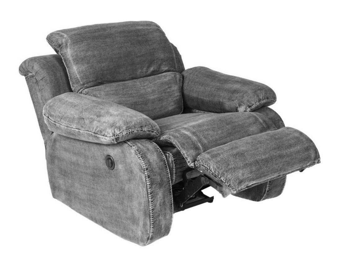Кресло-реклайнер RobinИнтерьерные кресла<br><br><br>Material: Джинса<br>Ширина см: 95<br>Высота см: 99<br>Глубина см: 90