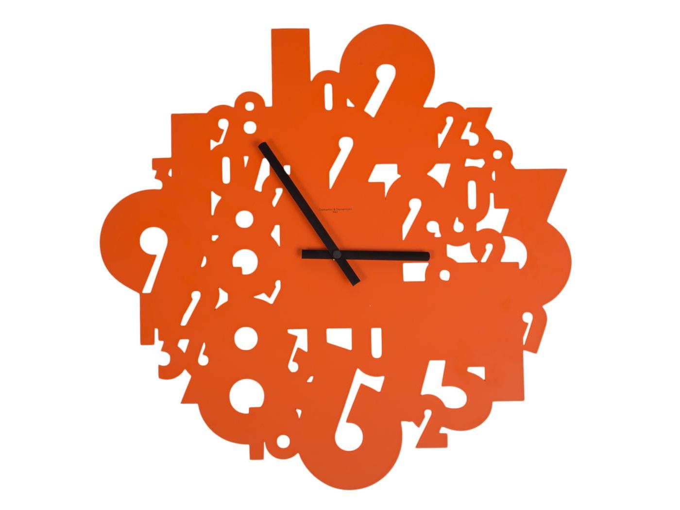 Часы настенные ShowtimeНастенные часы<br>Кварцевый механизм<br><br>Material: Металл<br>Глубина см: 2