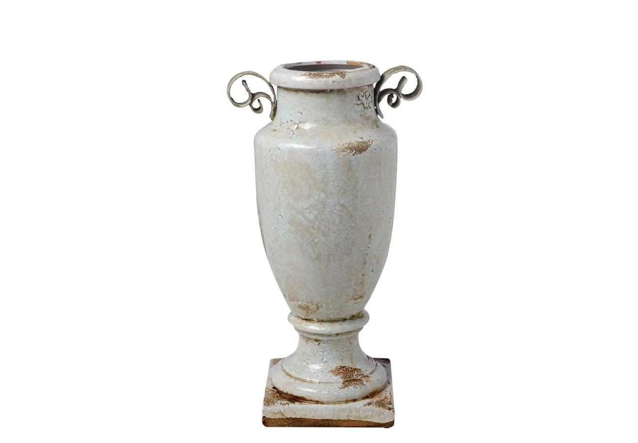 Ваза GreeceВазы<br>Декоративная ваза из фаянса в античном стиле.<br><br>Material: Керамика<br>Высота см: 53