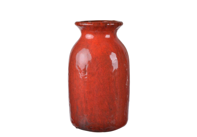 Ваза AldoВазы<br>Нарочито неровная ваза покрыта терракотовой глазурью. Она сможет стать украшением вашего интерьера даже без букета цветов в ней, ведь глядя на эту вазу, складывается ощущение, что это экспонат из археологического музея.&amp;amp;nbsp;<br><br>Material: Керамика<br>Высота см: 31