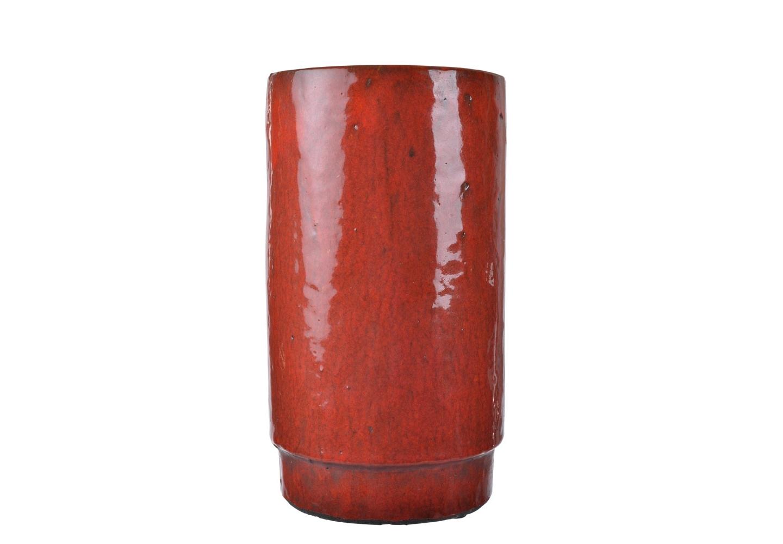 Ваза AldoВазы<br>Нарочито неровная ваза покрыта терракотовой глазурью. Она сможет стать украшением вашего интерьера даже без букета цветов в ней, ведь глядя на эту вазу, складывается ощущение, что это экспонат из археологического музея.&amp;amp;nbsp;<br><br>Material: Керамика<br>Высота см: 28