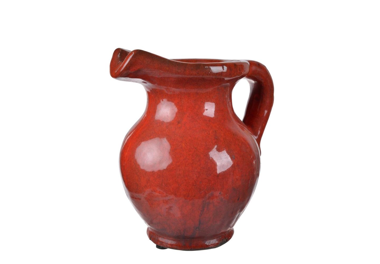 Ваза AldoВазы<br>Кувшин/ваза Aldo покрыт терракотовой глазурью. Он сможет стать украшением вашего интерьера даже без букета цветов в нем, ведь глядя на этот кувшин, складывается ощущение, что это экспонат из археологического музея.&amp;amp;nbsp;<br><br>Material: Керамика<br>Ширина см: 21<br>Высота см: 22<br>Глубина см: 16