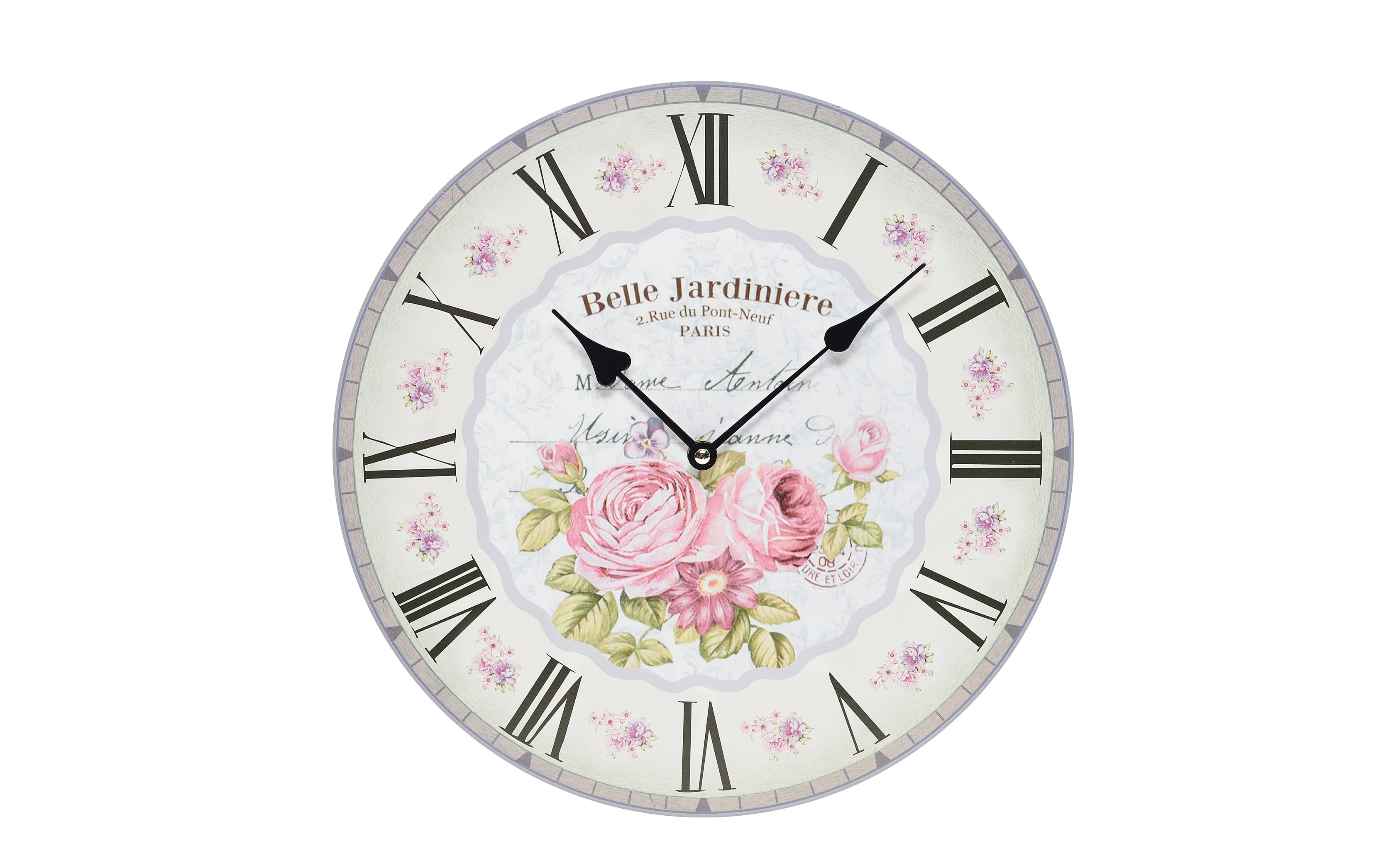 Часы настенные Ia?rosНастенные часы<br>Кварцевый механизм.<br><br>Material: МДФ<br>Ширина см: 34<br>Высота см: 34<br>Глубина см: 4