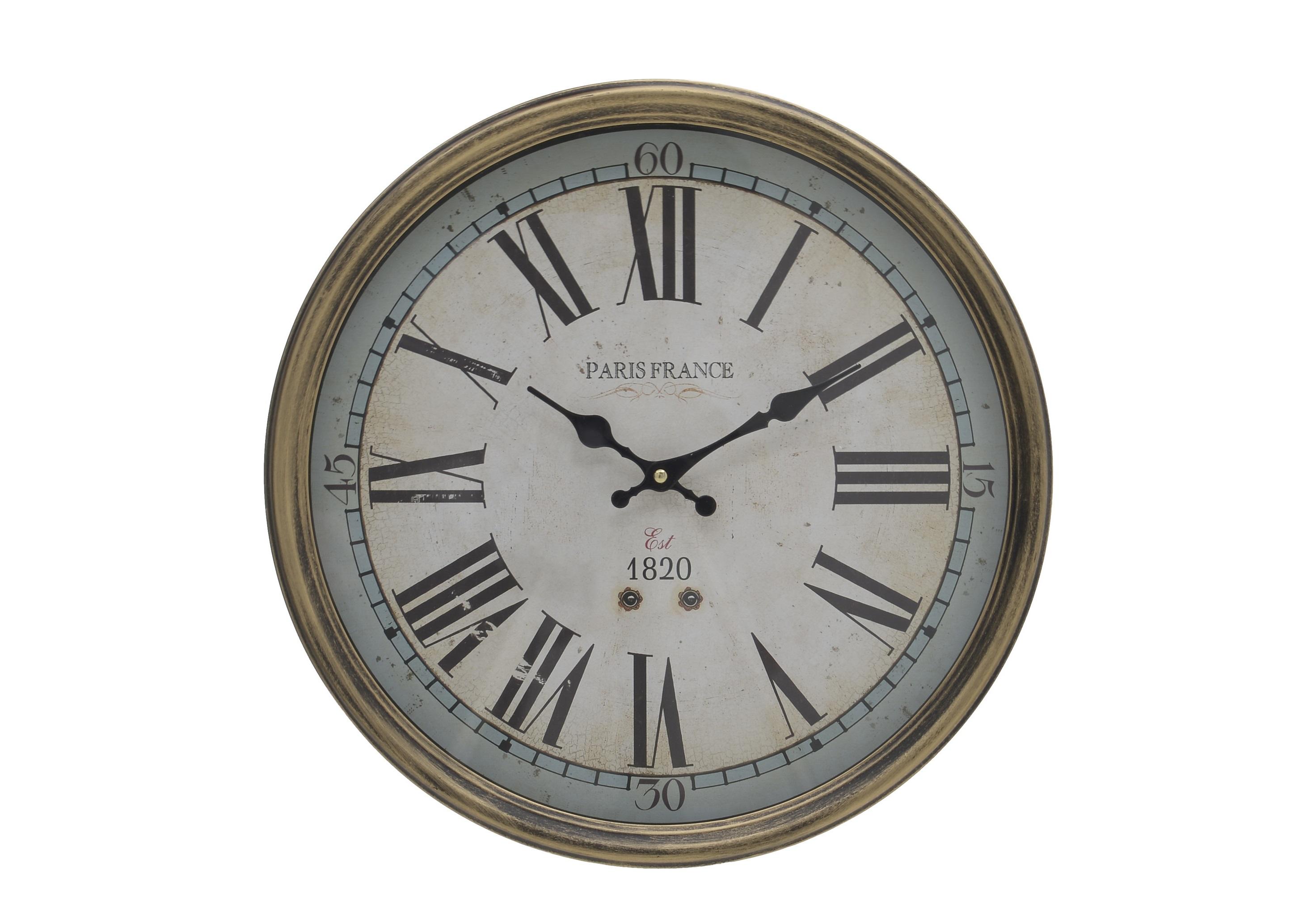 Часы настенные EmmaleeНастенные часы<br>Кварцевый механизм.<br><br>Material: Дерево<br>Ширина см: 40.0<br>Высота см: 40.0<br>Глубина см: 5.5