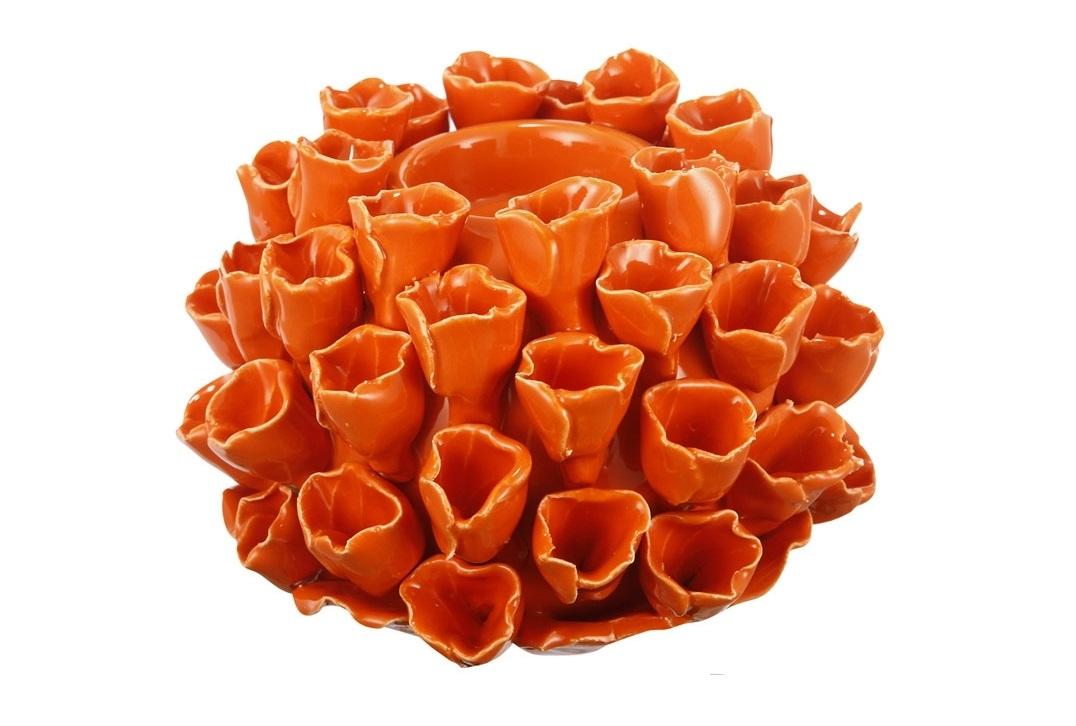 Подсвечник FloversПодсвечники<br><br><br>Material: Керамика<br>Ширина см: 15<br>Высота см: 11<br>Глубина см: 15