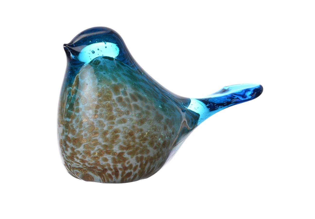 Декоративная птица GraniСтатуэтки<br><br><br>Material: Стекло<br>Ширина см: 18<br>Высота см: 8<br>Глубина см: 10